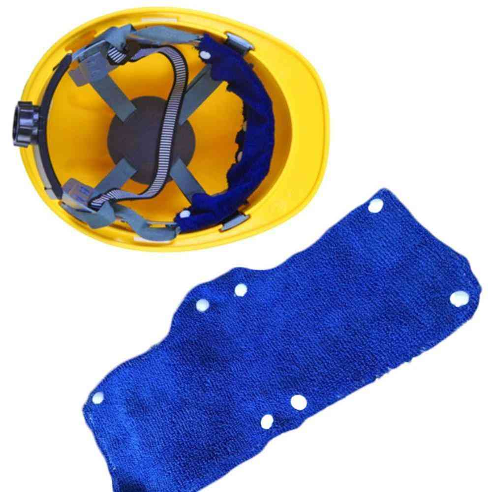 Comfort Hard Hat Replacment Sweat Band Worker Snap-on Type Safety Tool