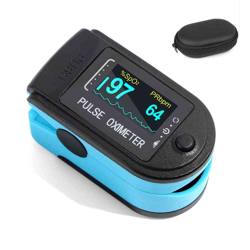 Blood Oxygen Saturation Monitor, Pulse Oximeter Fingertip