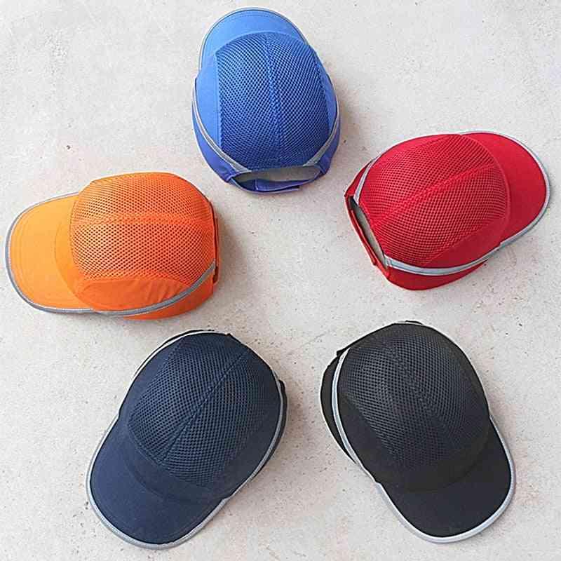 Fashion Sunscreen Cap, Work Safety Helmet