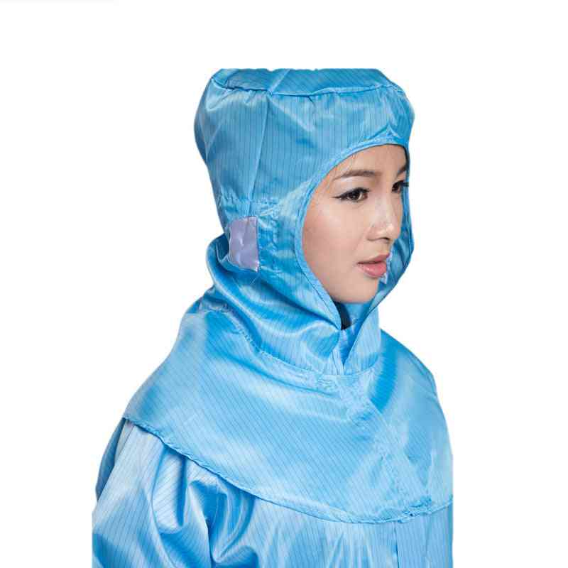 Anti-static Working Hat With Shawl, Anti-dust Shoulder Cap