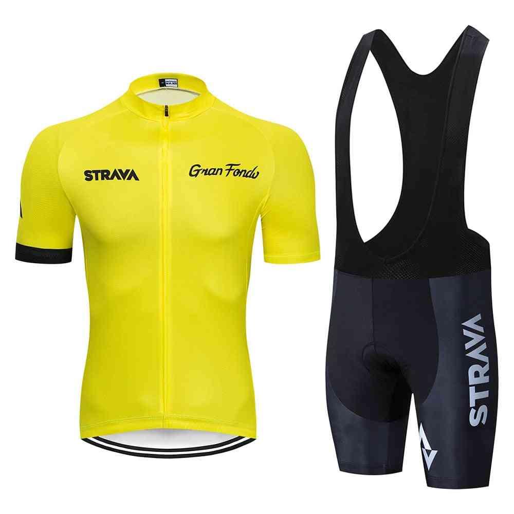 Pro Team Summer Cycling Jersey Set