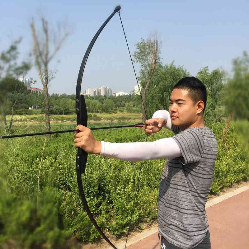 Professional Recurve Wooden Bow For Right Hand