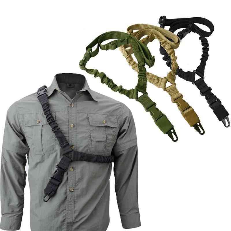 Adjustable Tactical Gun Single Point Sling Belt