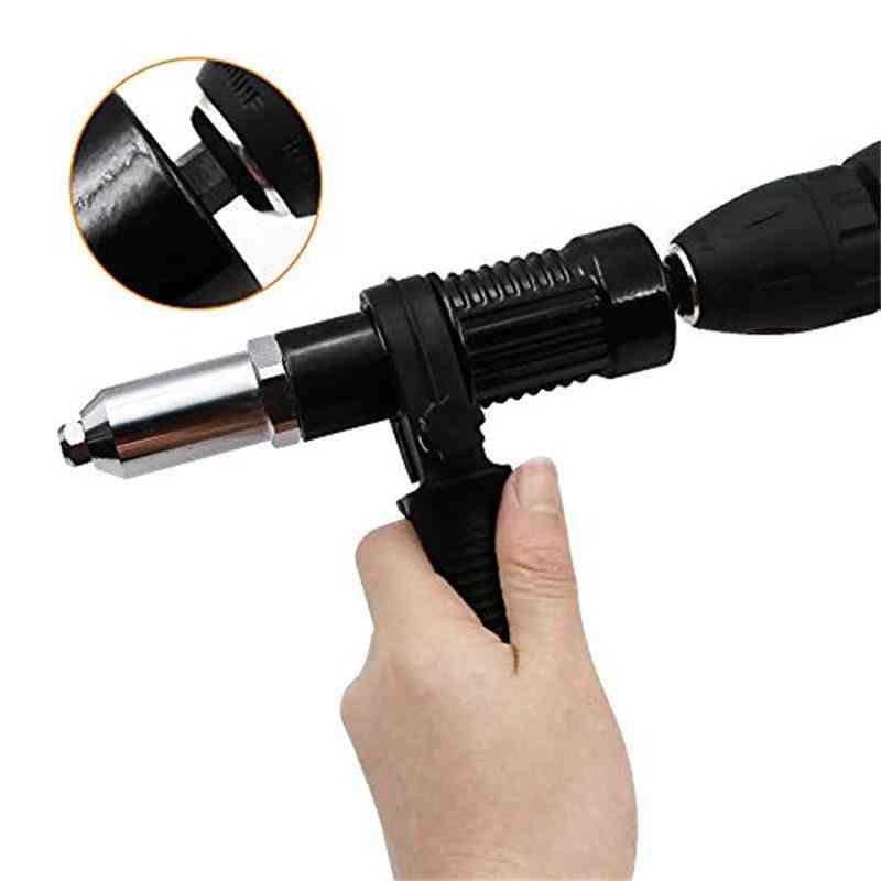 Rivet Nut Gun Adaptor For Cordless Drill Electric, Riveting Insert Tool