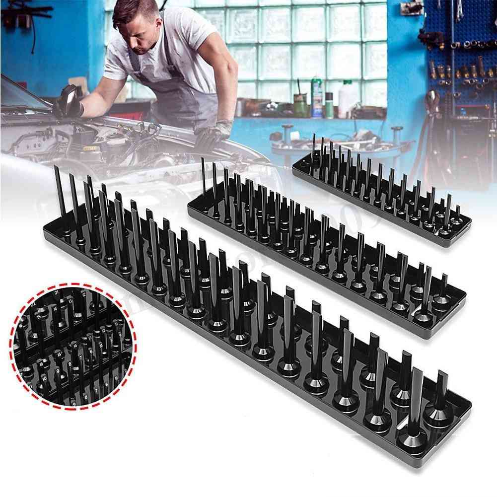Garage Storage Tool Rack Holder Home Socket Tray