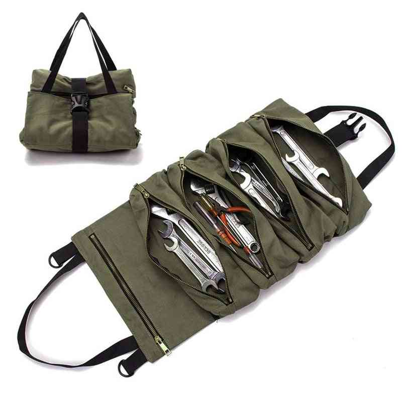 Multi-purpose Wrench Roll Up Storage Bag