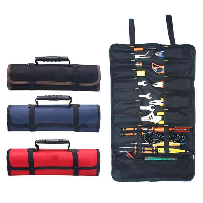 Multifunction Oxford Cloth, Folding Wrench, Roll Pouch Bag, Holder Pocket Tools