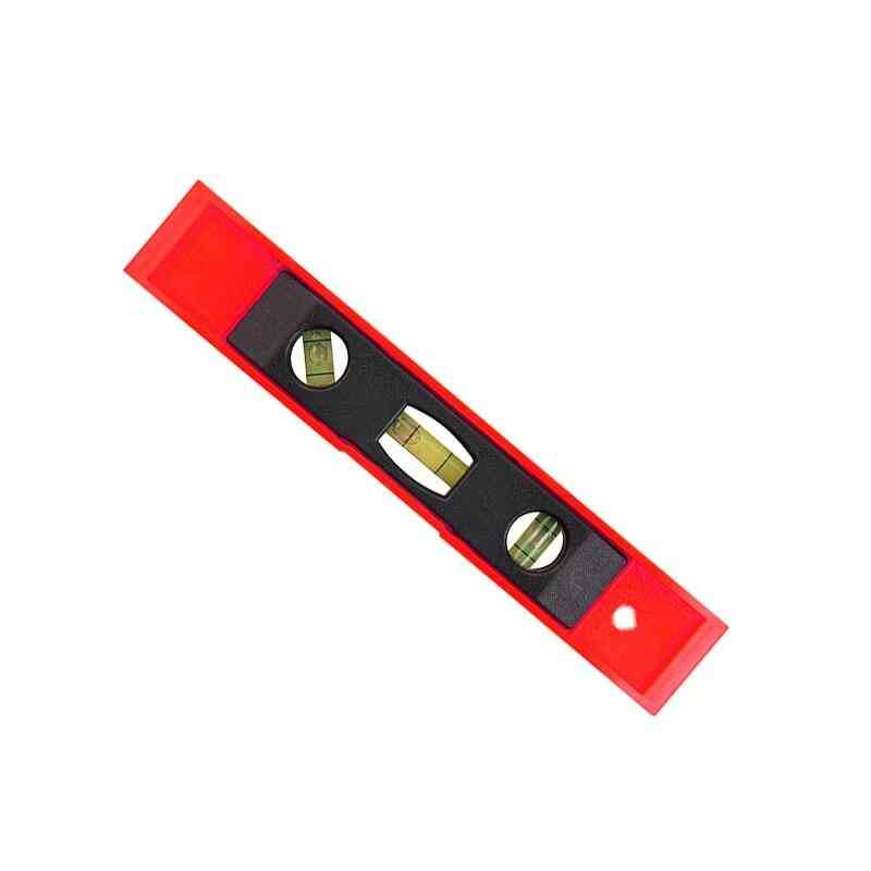 3 Bubble Spirit Ruler Magnetic Abs Shell Vertical Torpedo Level