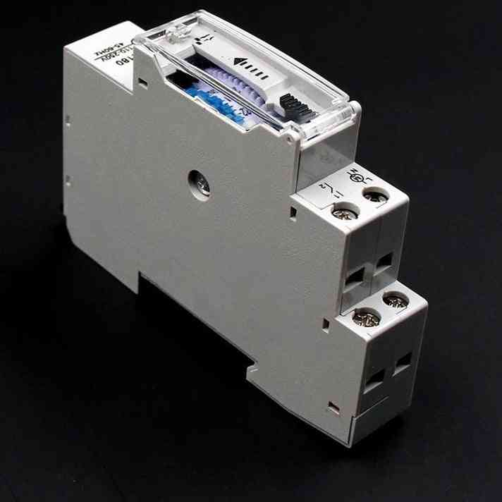 Programmable Din Rail Mechanical Timer Time Switch