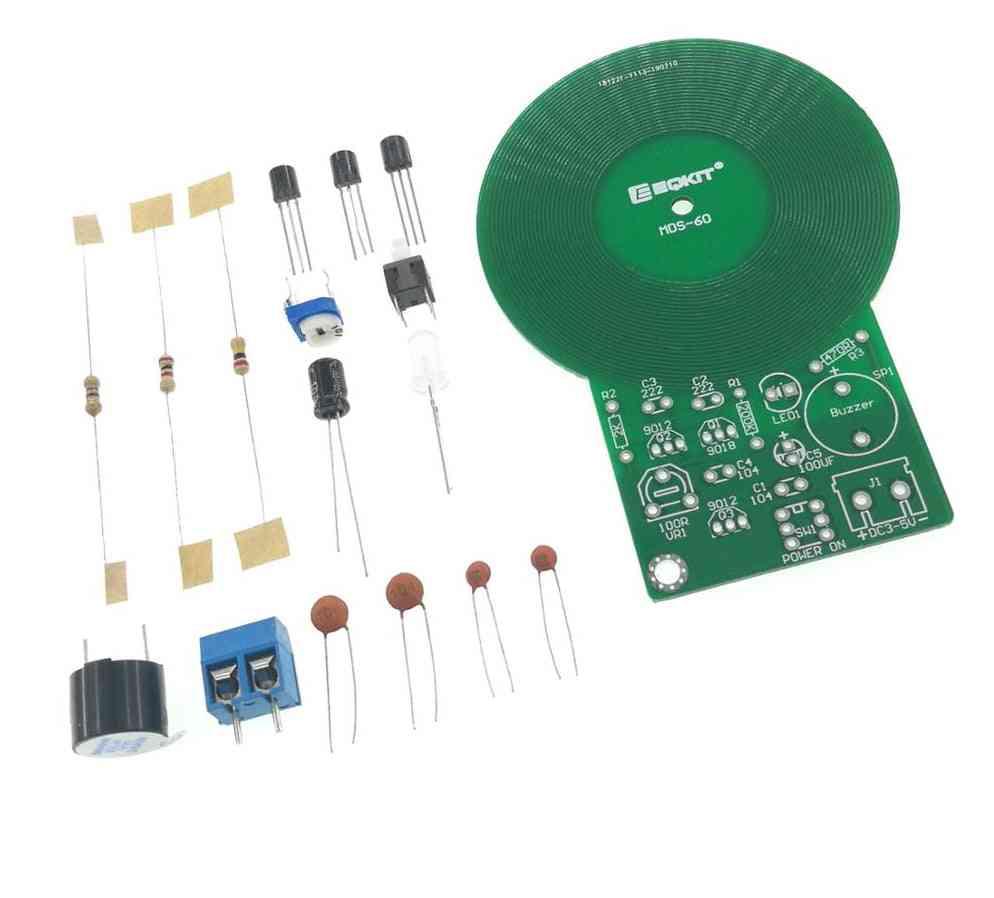 Metal Detector Welding Exercise Board