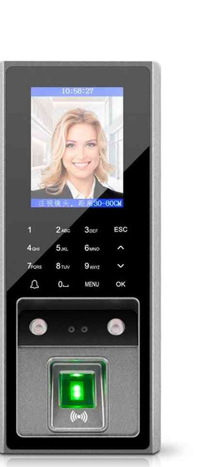 2.8inch Lcd Tcp/ip Usb Biometric Fingerprint, Face Access Control Device System
