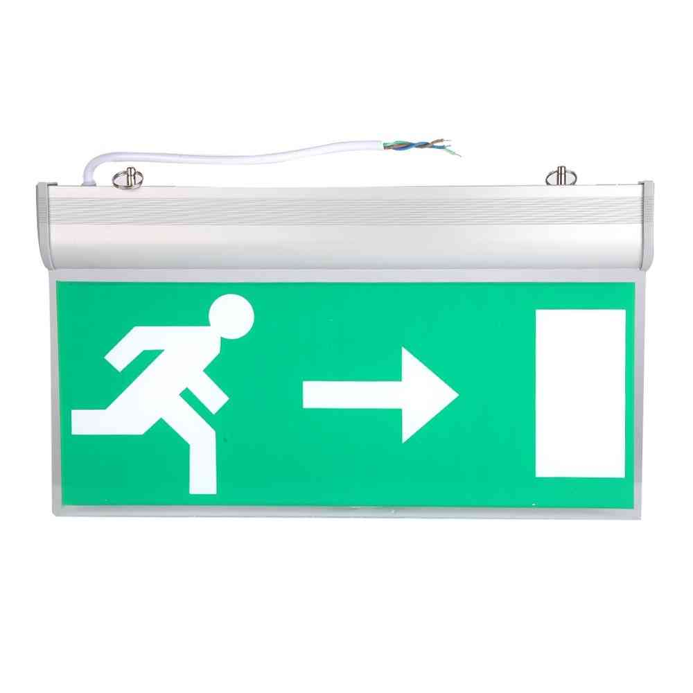 Left Right Sign Safety Evacuation