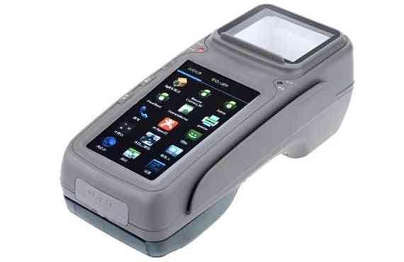 Wireless Financial Hand Held Pos Terminal Parking Ticket Machine