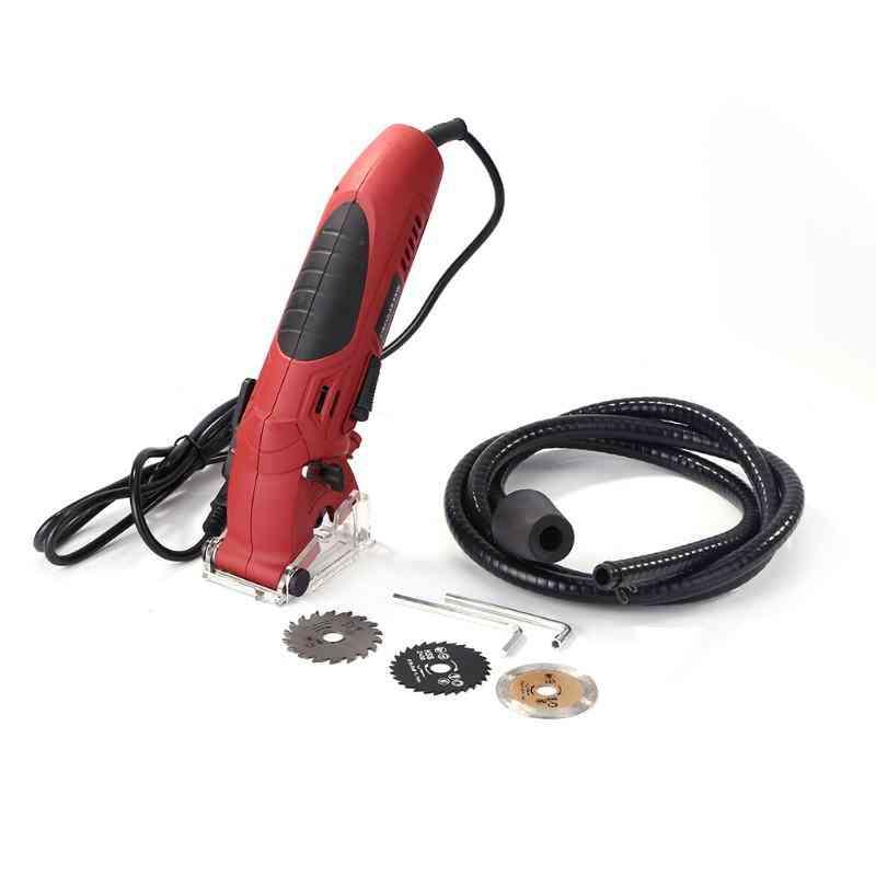 Electric Mini Circular Saw, Laser Cutting Wood, Pvc Tube