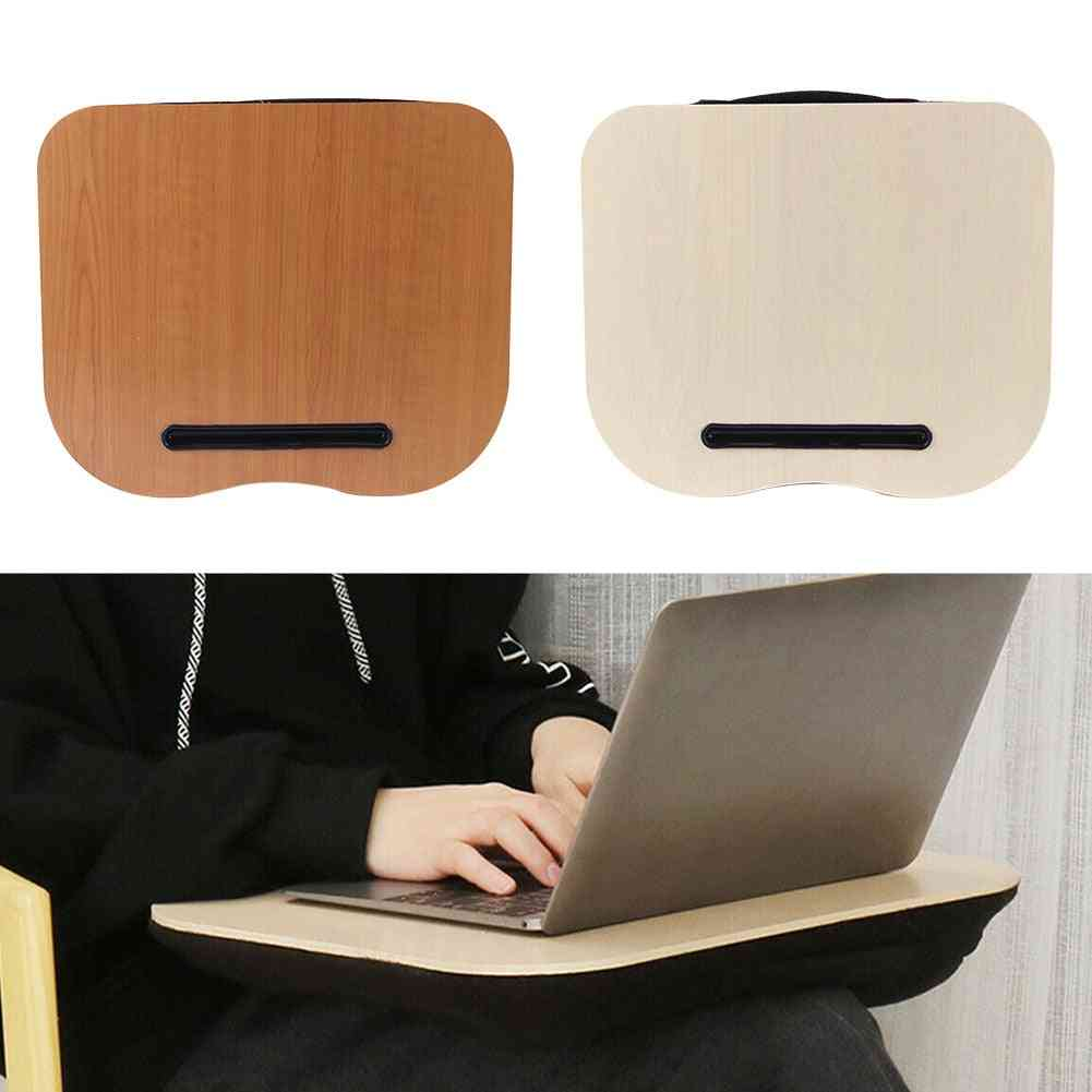 Stand Pillow Computer Cushion Office Outdoor Lap Travel Laptop Desk