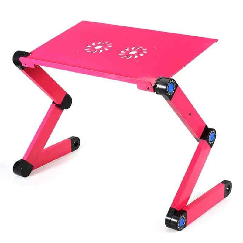 Adjustable Foldable Laptop Desk Table Stand Holder