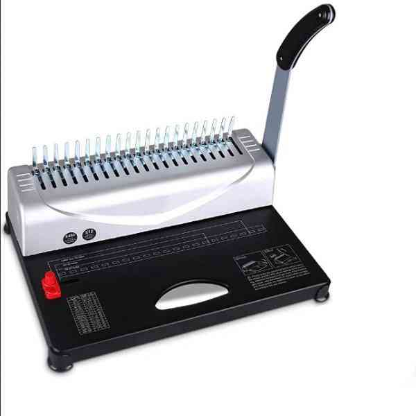 A4 Paper Binding Machine, Puncher 21 Holes For Office, Home Tools