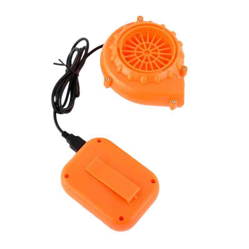 Portable Mini Electric Fan-air Blower For Doll/cartoon Costumes