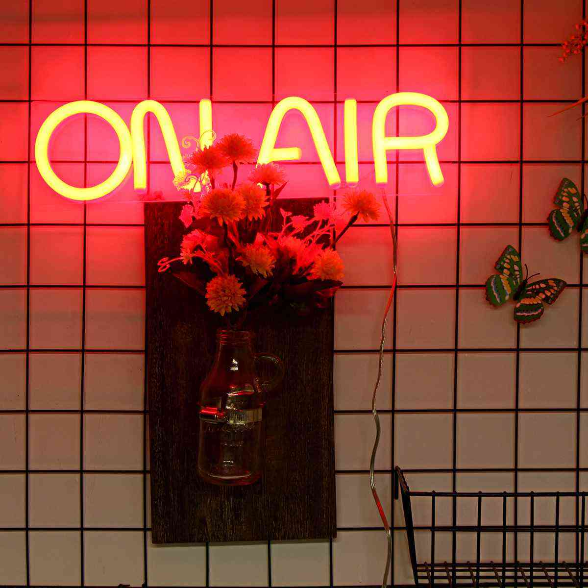 On Air Led Neon Sign Light. Wall Decor