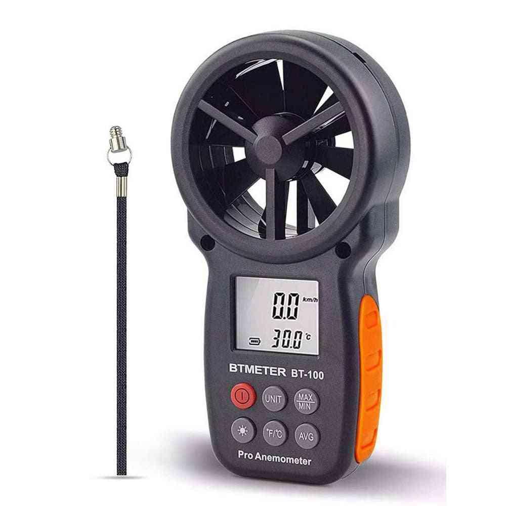 Handheld Wind Speed Measuring Digital Anemometer