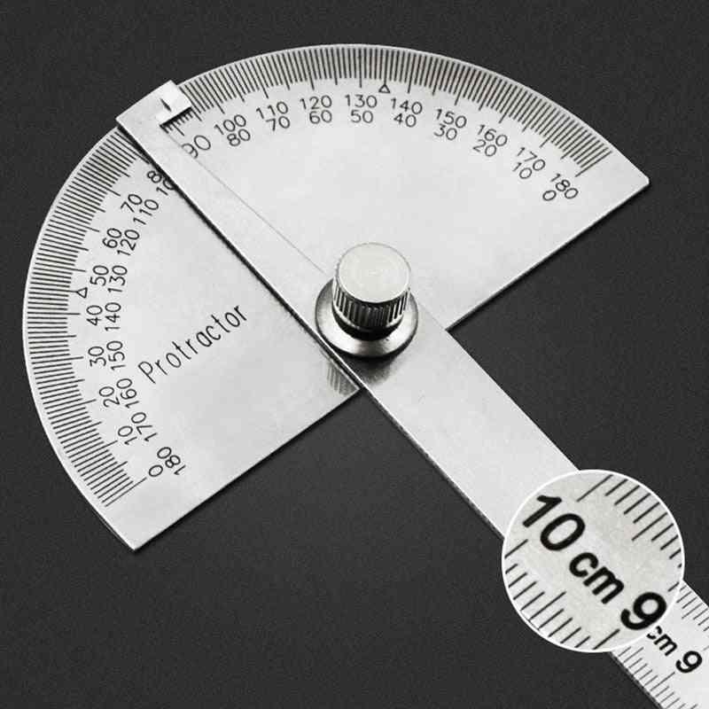 Multifunction Adjustable Stainless Steel Roundhead Ruler