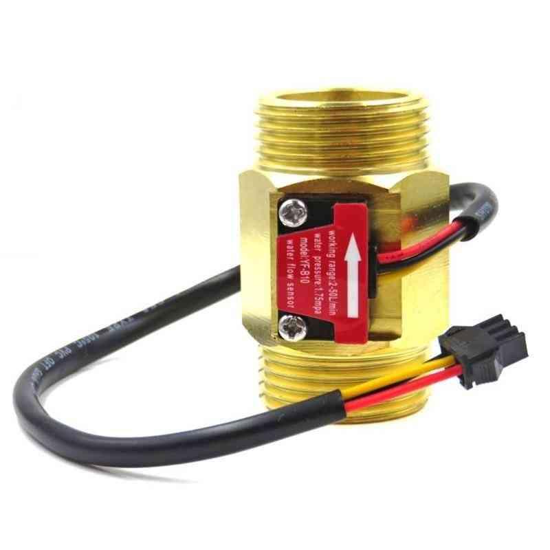 Dn25 Brass Meter Water Flow Sensor