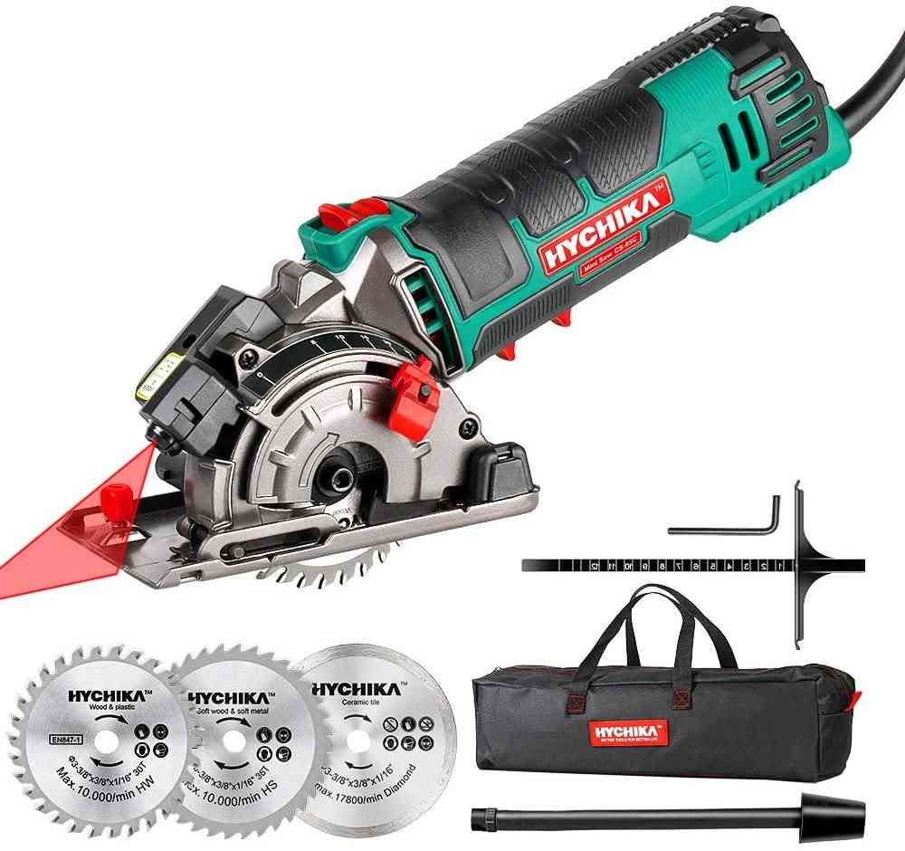 Multifunctional Electric Mini Circular Saw With Laser Tool For Wood