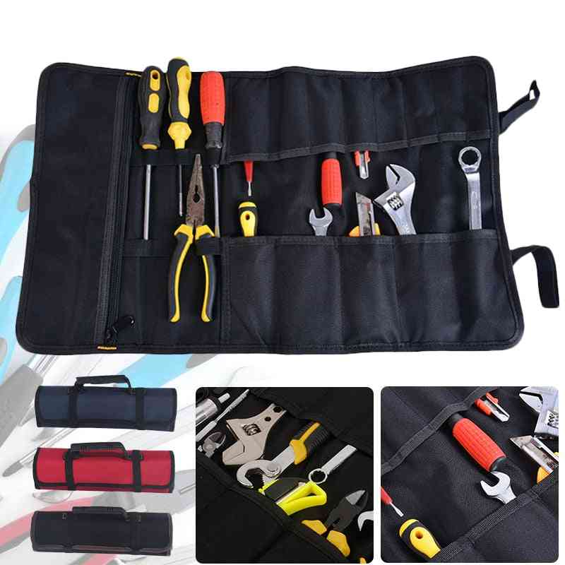 Multi-size, Magnetic Storage, Waist Tool Bag For Electrician, Contractor