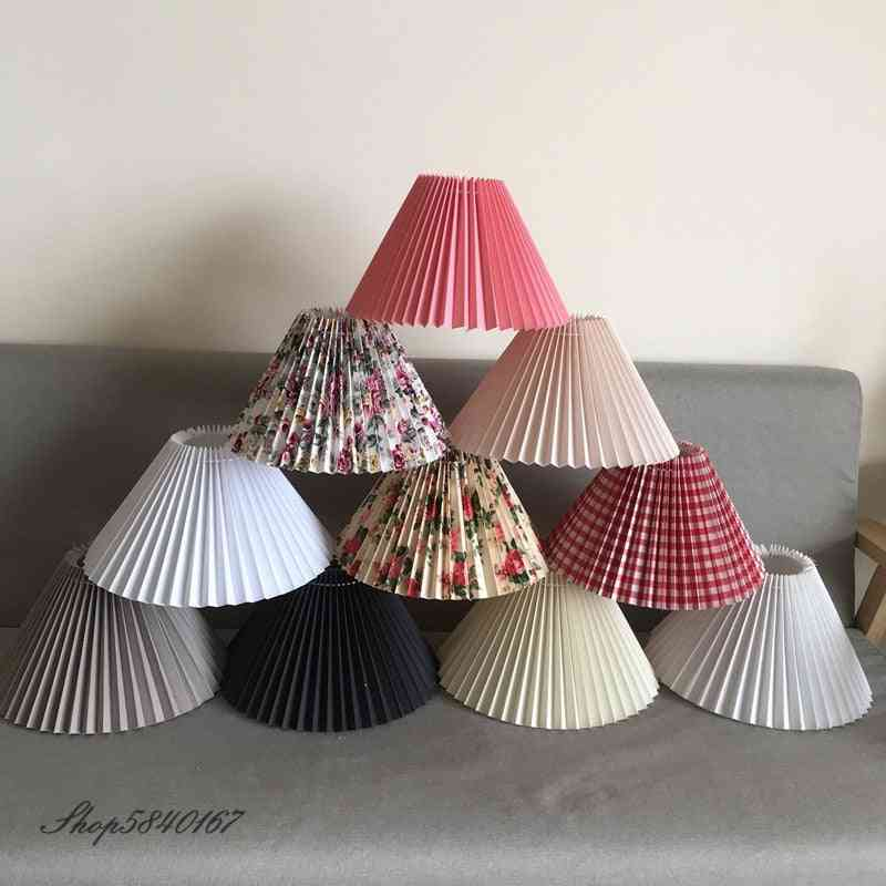 Pleated Lampshade For Table Lamp / Standing Lamps