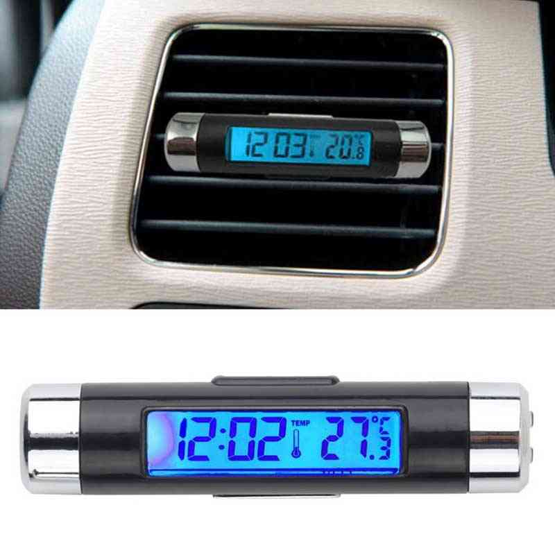 Car Automotive Blue Backlight With Clip