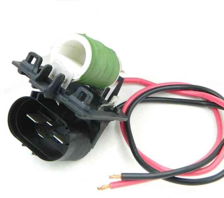 Radiator Fan, Blower Motor Resistance