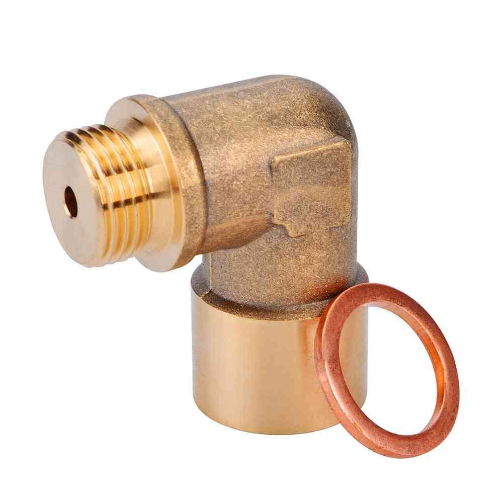 M18 X1.5, 90degree Oxygen Sensor/extender & Spacer Exhaust
