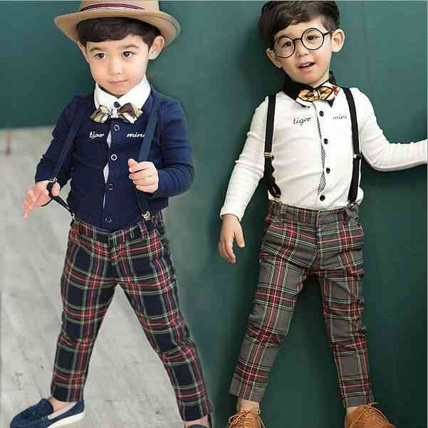 England Style, Cotton Party, Suit For Boy's