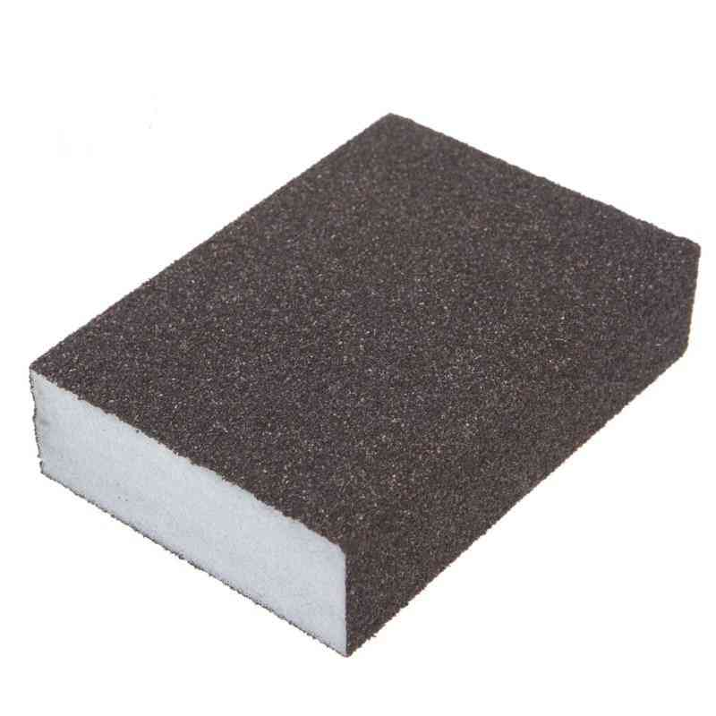 Sanding Block Sponge Polishing Pad Furniture Buffing Sandpaper Tools