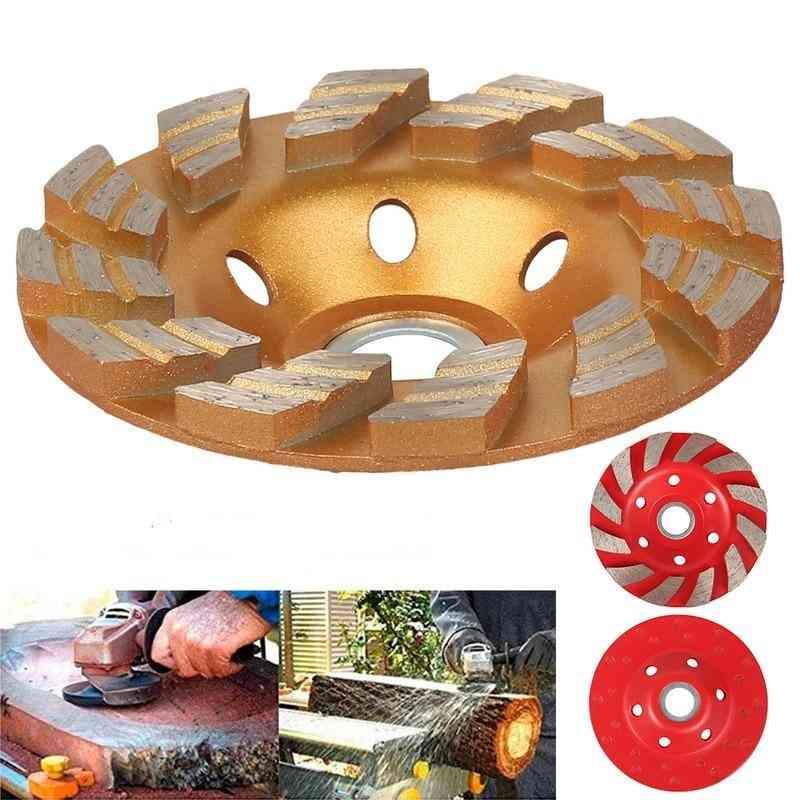 Diamond Grinding Wheel Wood Carving Disc, Concrete Granite Stone Ceramic Cutting Power Tools