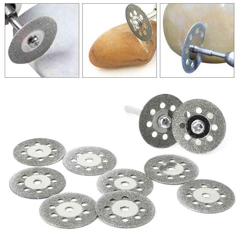 Diamond Grinding Wheel Discs Circular Cutting Saw, Dremel Rotary Tool