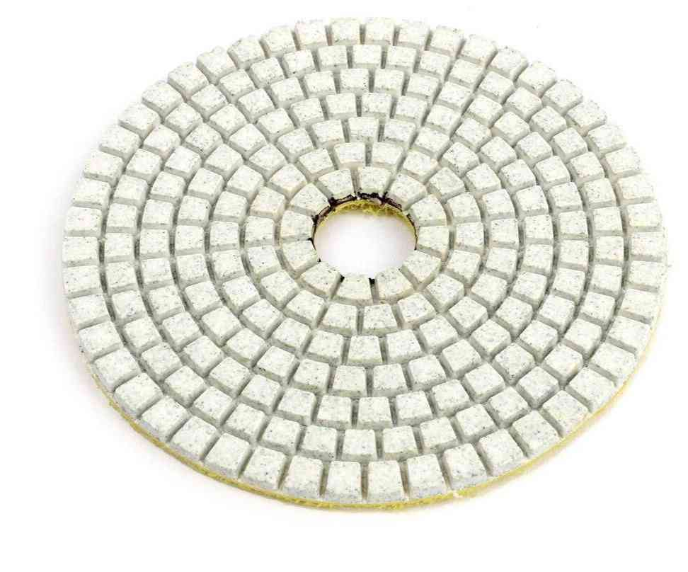 Diamond Poiishing Disk Granite Marbie, Poiish Wet Use Concrete Sander Pad Stone Grinding Buff