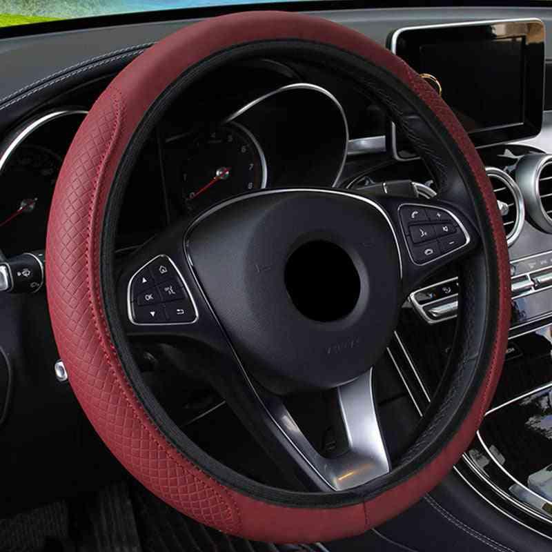 Braid On The Steering Wheel Cover