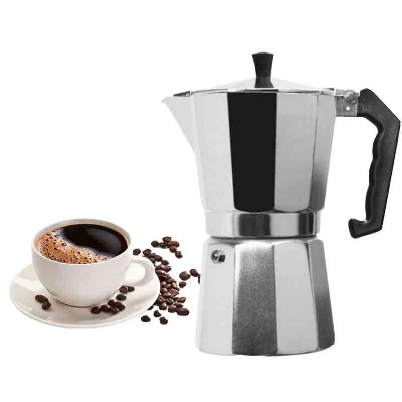 Aluminum Mocha Espresso Percolator Pot Stovetop Coffee Maker
