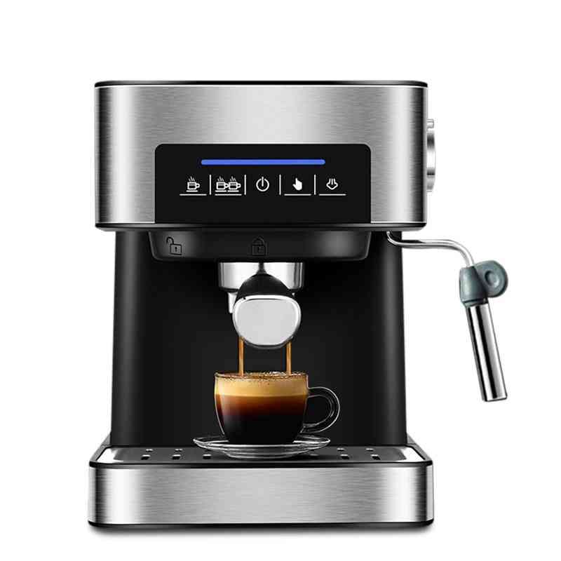 Bar Italian Type Espresso Coffee Maker Machine With Milk Frother Wand