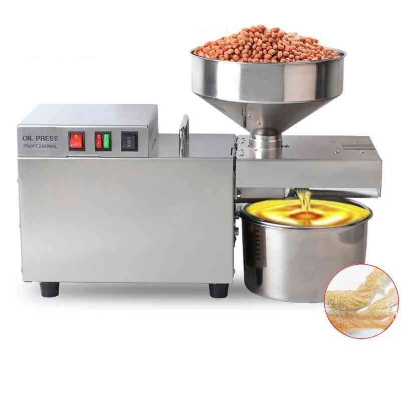 Hot And Cold Oil Press Machine For Extracting Pine Nuts Cocoa Beans
