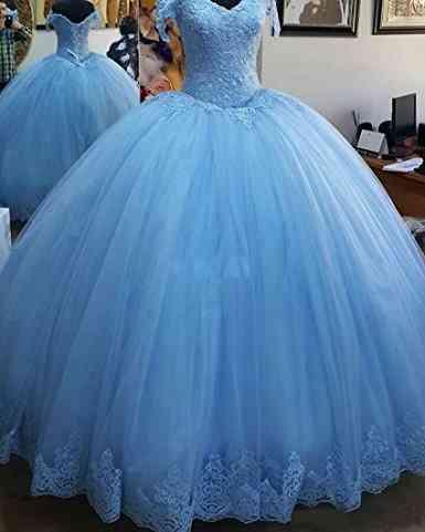 16-debutante Charming, Appliques Corset, Quinceanera Ball Gown Dresses