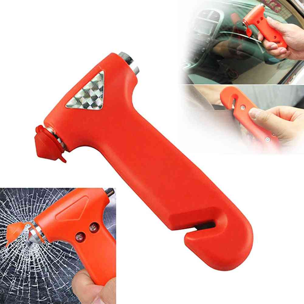 Emergency Hammer With Seat Belt Cutter - Car Accessories