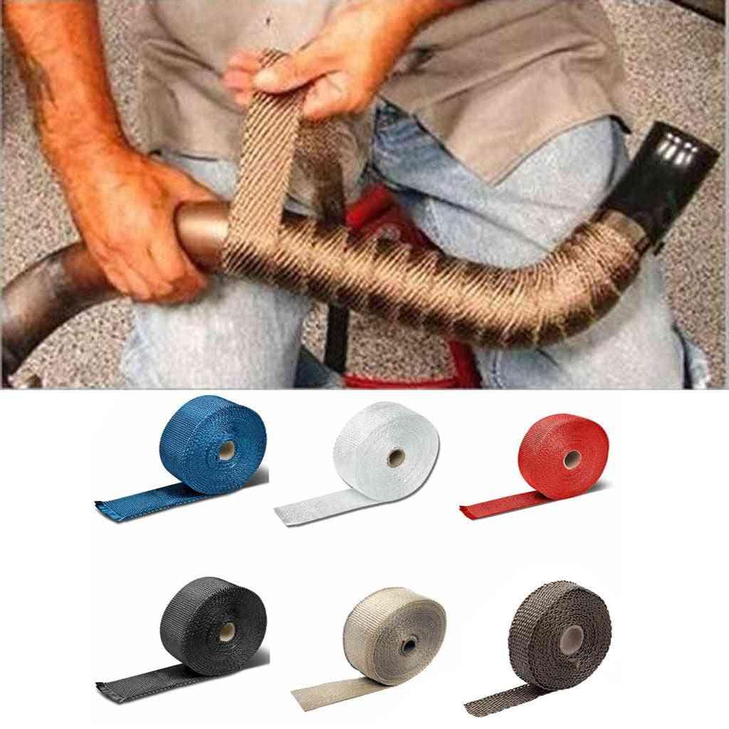 Fiberglass Heat Wrap Tape, Stainless Steel Zip Ties
