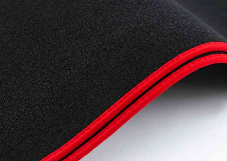 Car Dashboard Cover Carpet Mat, Anti-uv For Honda Civic Acura