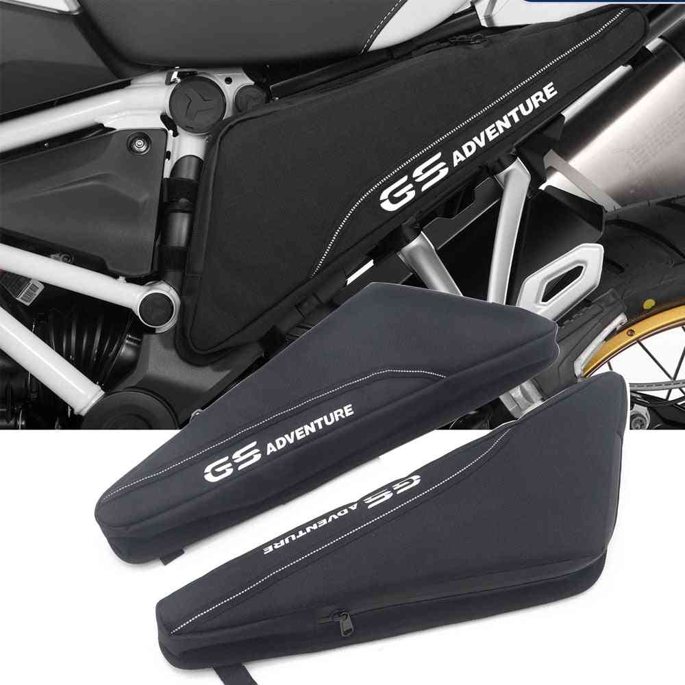 Motorcycle Repair Tool Placement Bag Frame, Triple Cornered Toolbox