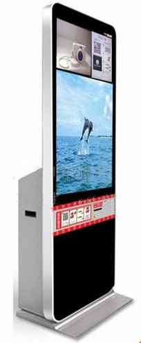 Interactive Wifi Touch Screen Online Photo Print Machine