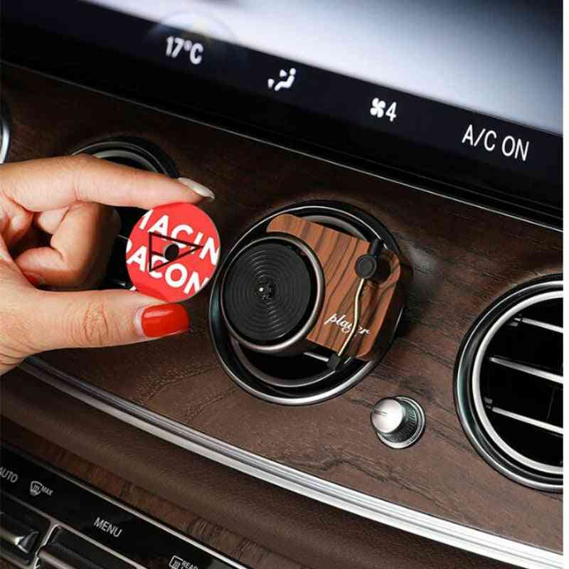 Car Air Freshener Perfume Record Player Car-perfume Clip Vinyl Spin Phonograph Air-vent Diffuser