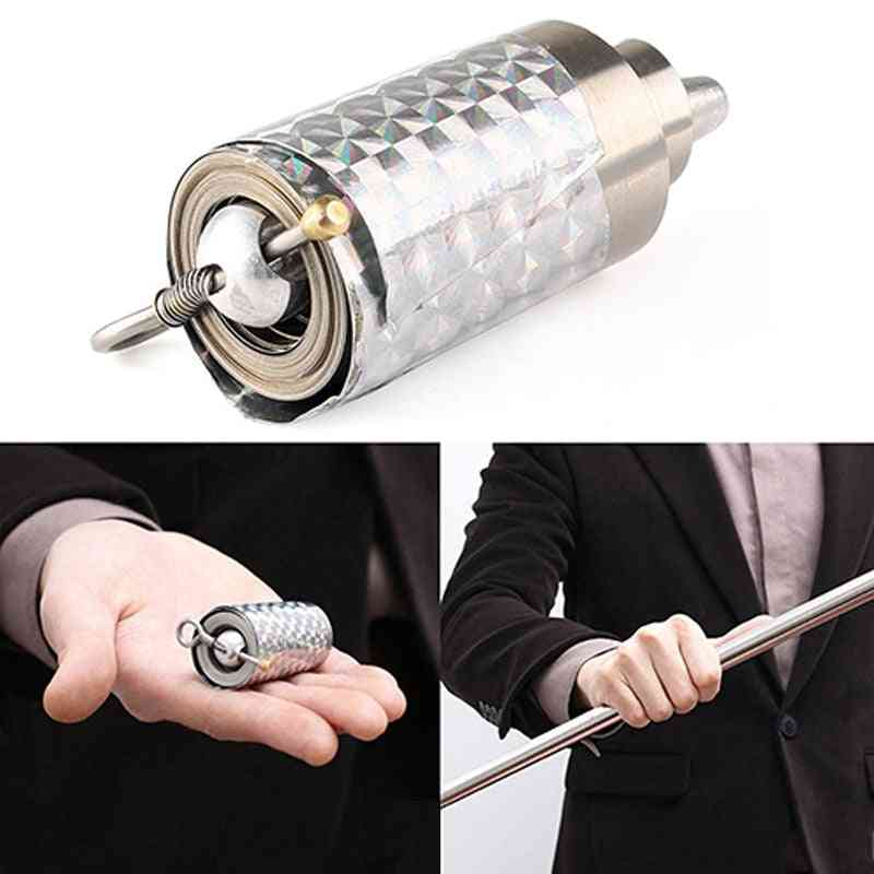 Portable Elastic, Telescopic Rod Metal Magic, Pocket Car, Steel Wand Stick