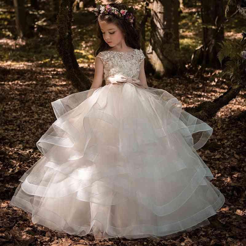 New Flower Girl Dress, Pageant Gowns  Dress
